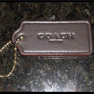 Coach New York Handbag Brown Tag
